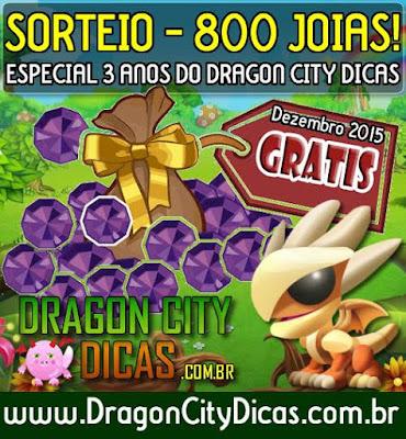 Super Sorteio de 800 Joias Grátis - Dezembro 2015