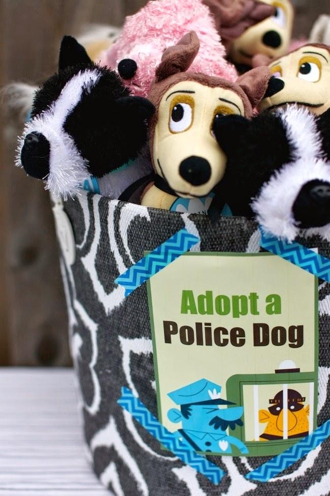 Decoración de Fiestas Infantiles de Policías y Ladrones