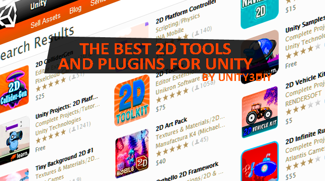 The Best 2D Tools and Plugins for Unity