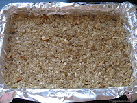 Granola bars before baking