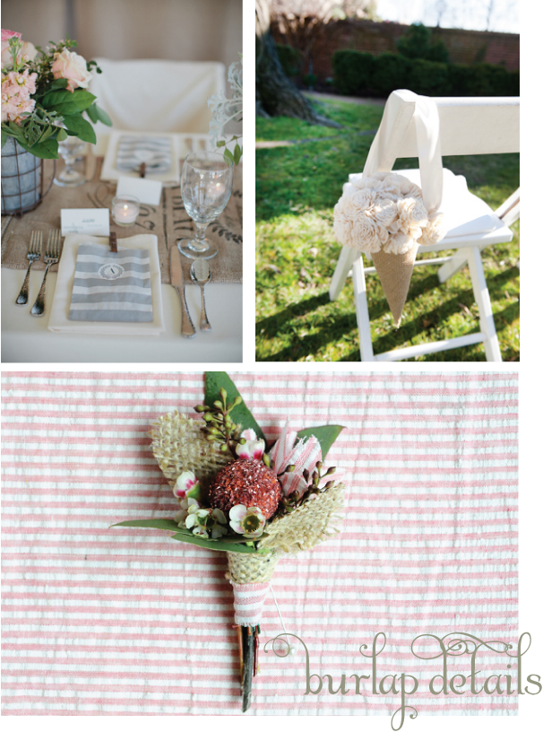 Wedding Inspiration Burlap