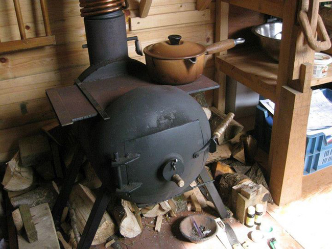 How To Build A Woodstove Water Heating Attachment