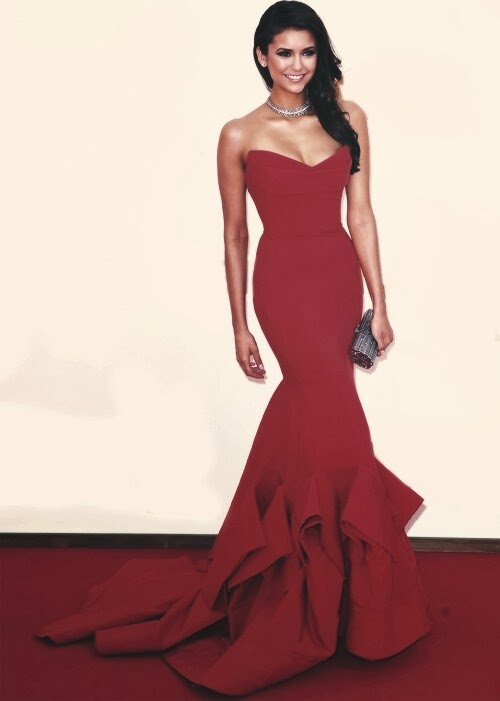 2014 red evening dress fashion all designs