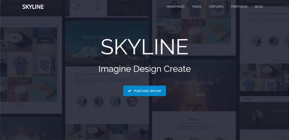Skyline – Multipurpose Single/Multi-page Theme