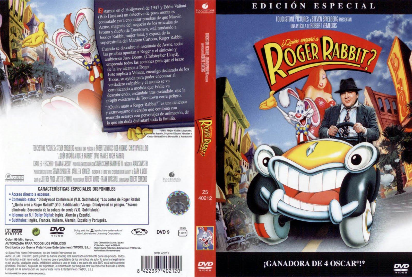 ¿ Quién Engañó a Roger Rabbit ? (1988) Descargar y ver Online Gratis