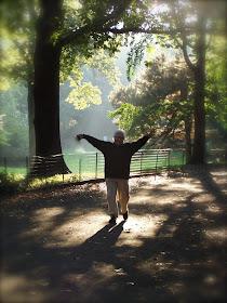 Abrazando la vida en Central Park