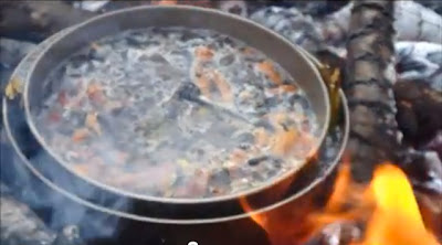 How To Cook Over A Fire Without Burning or Stirring!