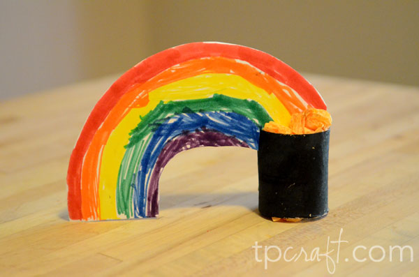 Tpcraft Com St Patrick S Day Rainbow And Pot Of Gold Toilet