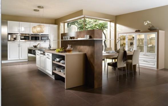 Decoracion de Interiores: Diseño de Cocina Moderna estilo Francesa