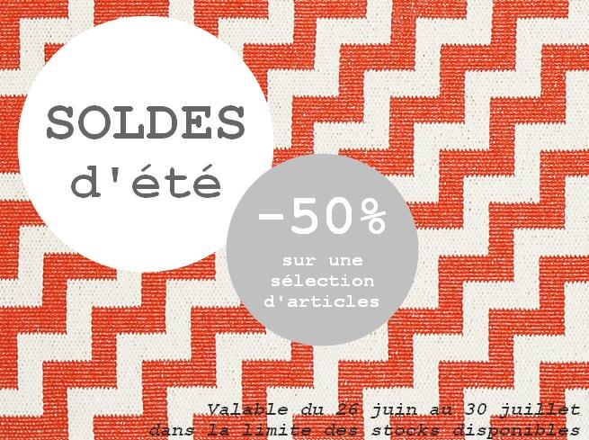 SOLDES -50%!