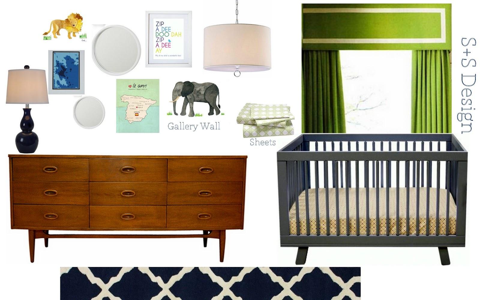 mid century modern nursery ideas project elegant mid century