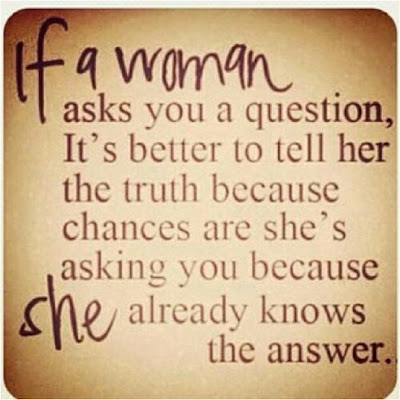 What if a Woman asks a Question? What will be your Answer?