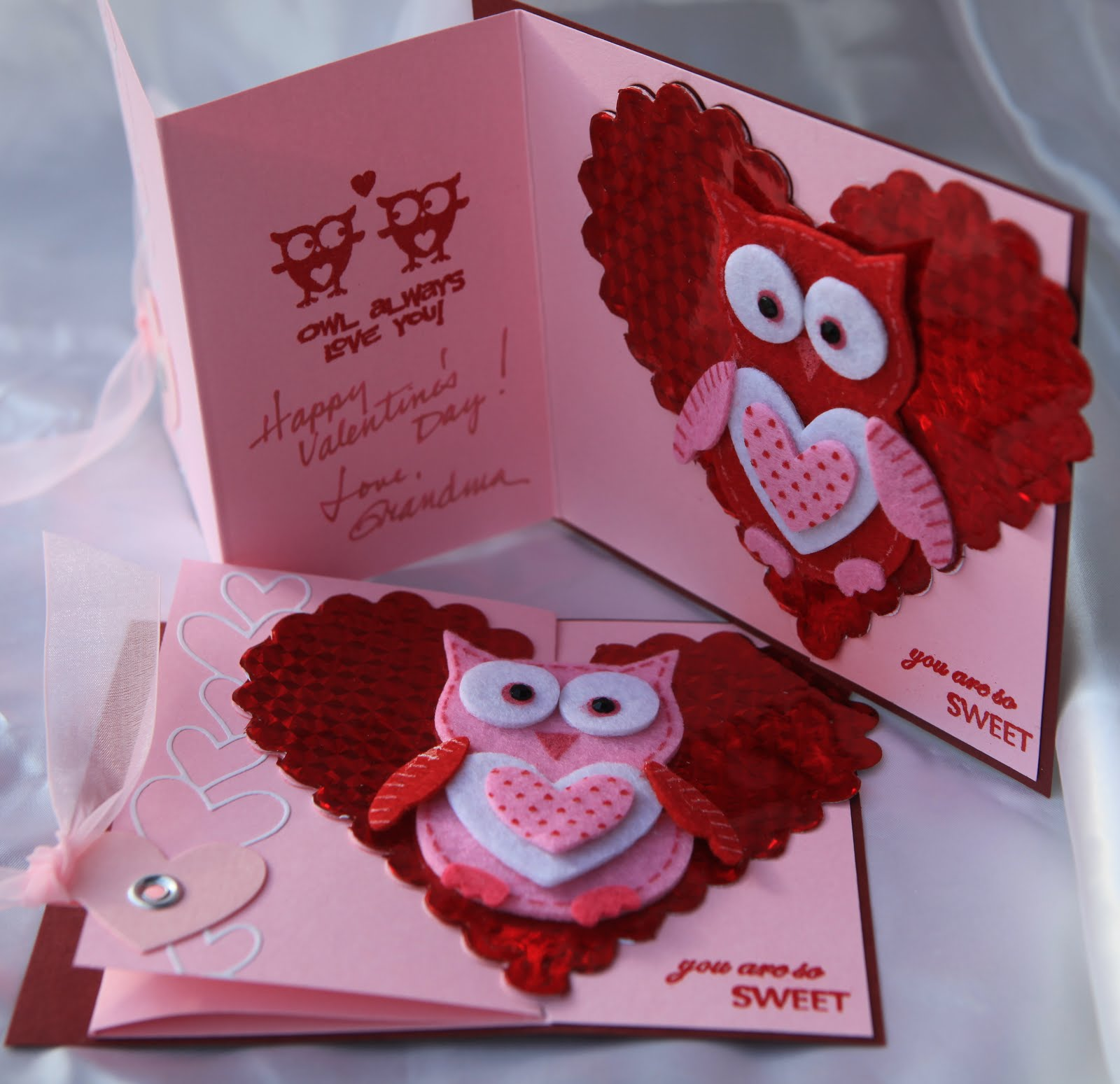 Today 39 s creations valentine cards for Designs for valentine cards
