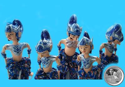 Wayang golek modern khas Subang
