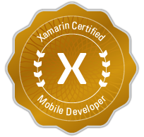 Xamarin Certified Mobile Developer logo