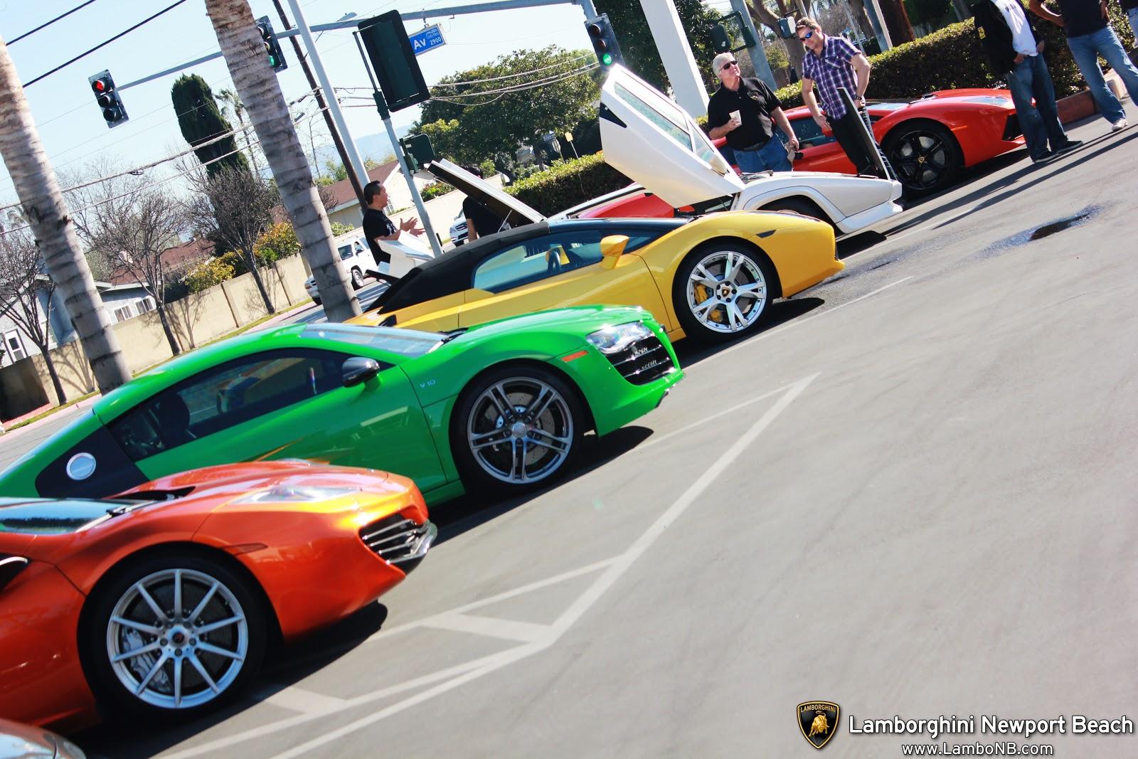 Supercar Show Lamborghini Newport Beach Fatallyborn