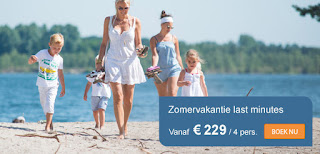 Sunparks zomer aanbod
