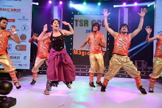 Actress Charmi Kaur Dance Performance on Stage at CCCup 2013 Launch 0054