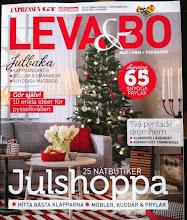 Mitt hem i tidningen Leva & Bo/Expressen nr 48/2012