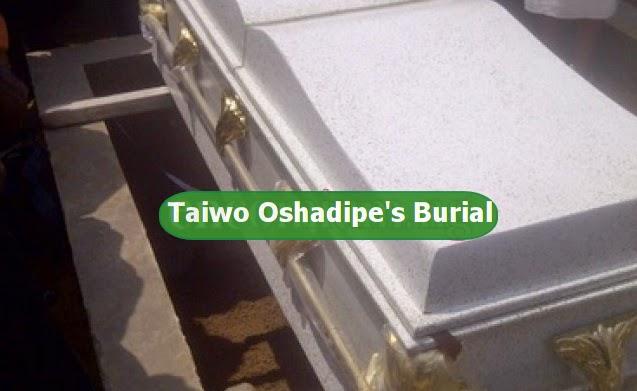 taiwo oshadipe burial photos