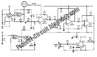 electronics technology  single chip theremin circuit