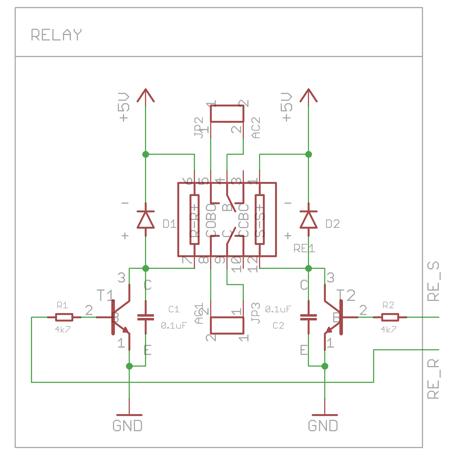 Starlight High Power LED Retrofit Part - Two coil latching relay