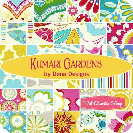 Eva b designs fabric designer of the week dena fishbein for Dena designs fabric kumari garden