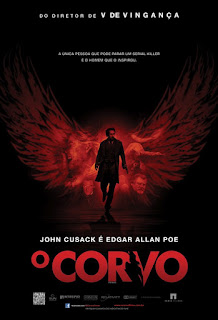 "Cartaz nacional do filme ""O Corvo"" (2012)"