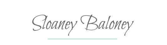 sloaney baloney