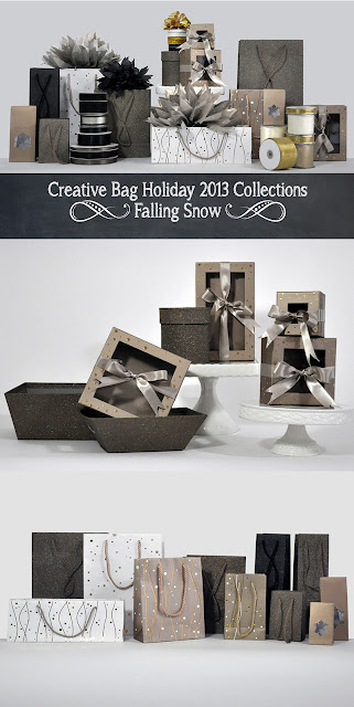 Creative Bag Holiday 2013 Falling Snow Collection