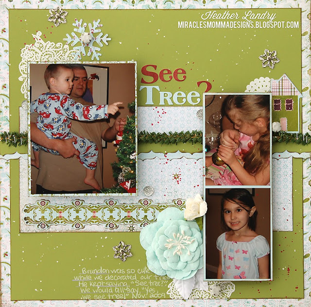 Christmas Tree_Branch_Funny Scrapbook Page
