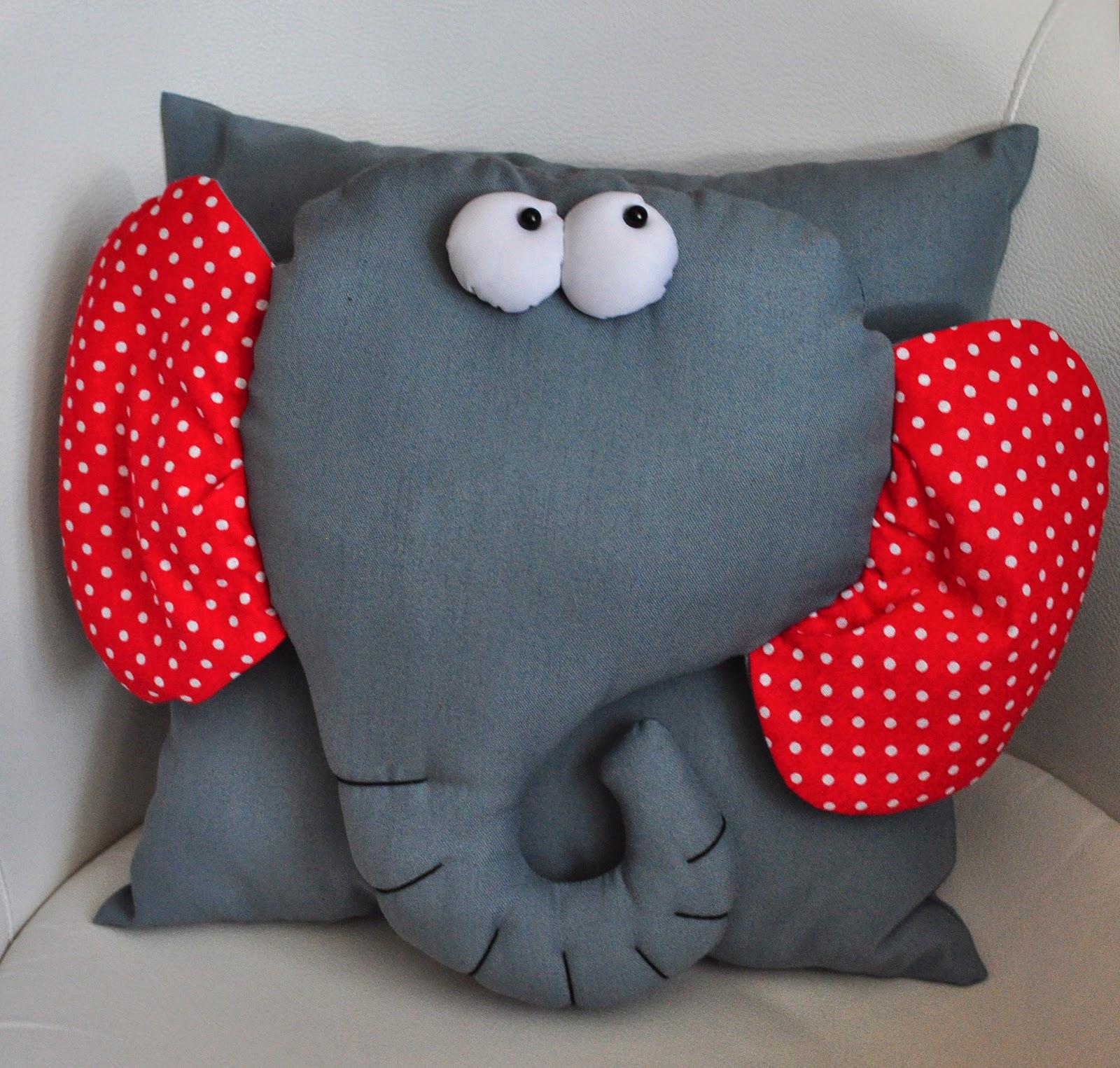 Сшить мягкую игрушку-подушку своими руками