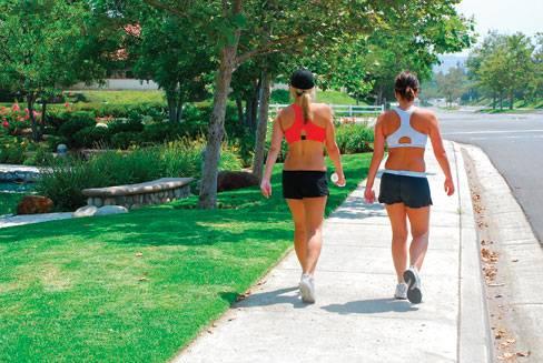 Quais os benefícios da caminhada