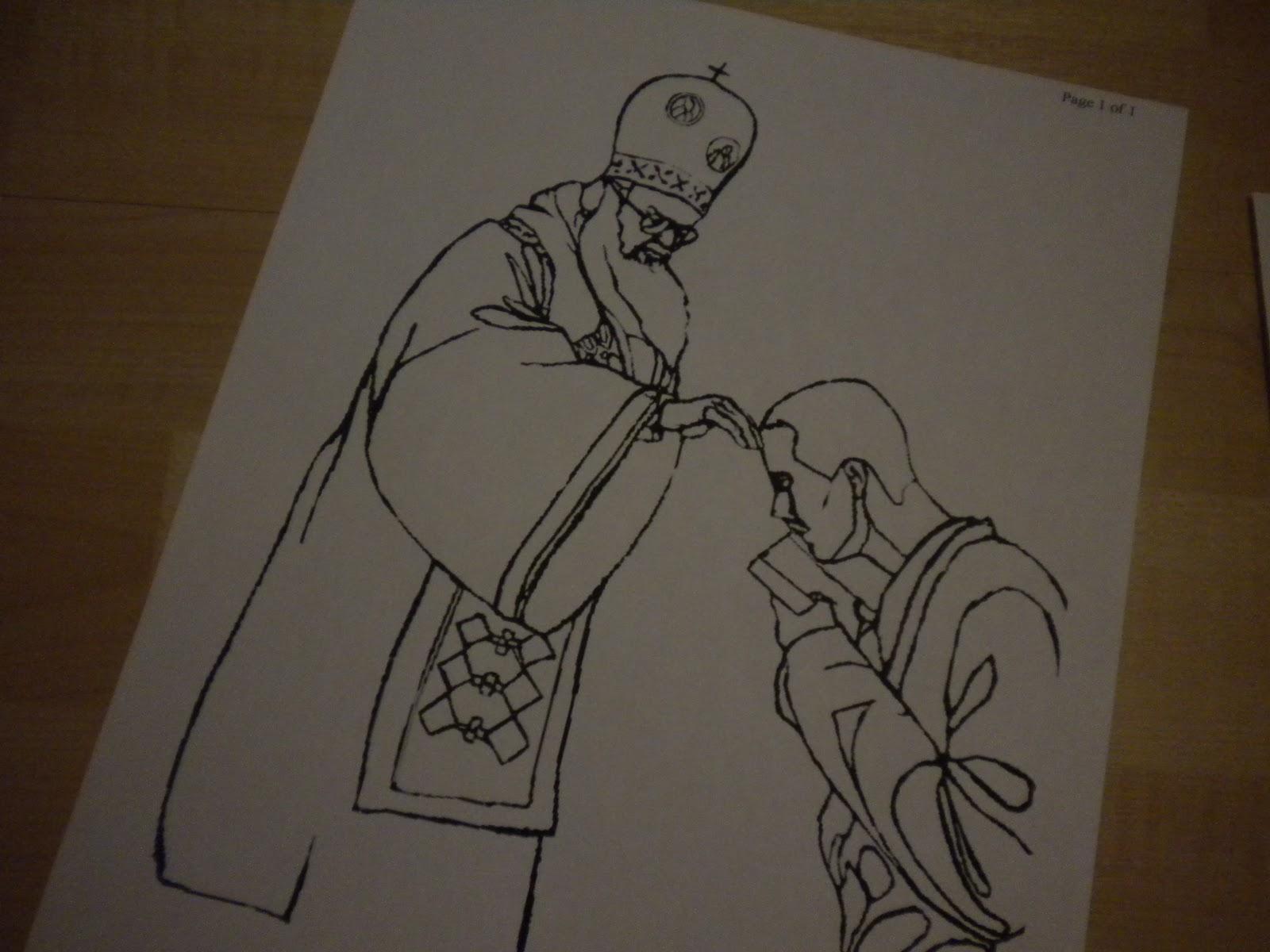 Familia Católica: Páginas para Colorear para el Miércoles de Ceniza