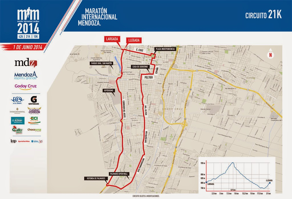 Maratón Internacional de Mendoza 21k