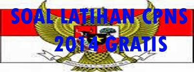 DOWNLOAD Soal Latihan CPNS Indonesia 2014 GRATIS