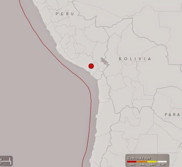 Temblor en Arequipa