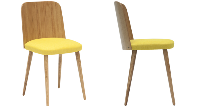 Tableau design et affiche moderne déco pop et vintage: chaise