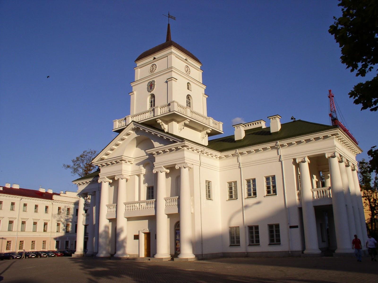 Mapa de Lugares para visitar em Minsk