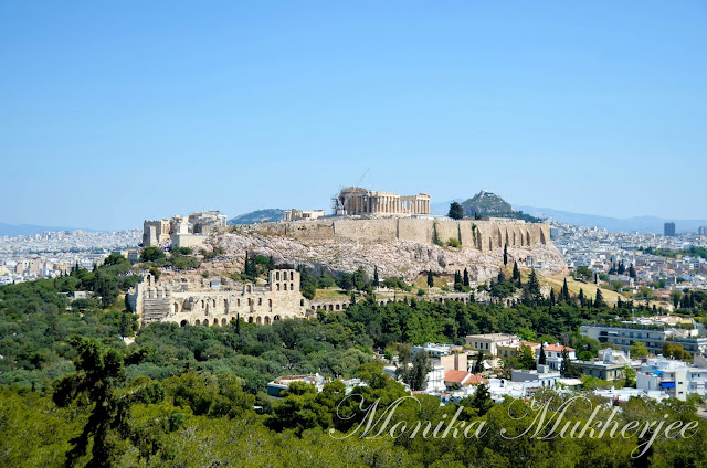 Athens, Greece by Monika Mukherjee