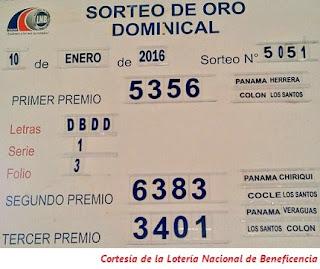 resultados-sorteo-domingo-10-de-enero-2016-loteria-nacional-de-panama-tablero-oficial