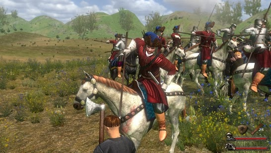 Gameplay Mount & Blade With Fire and Sword