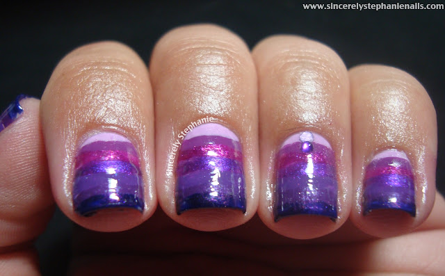 31 day nail art challenge violet