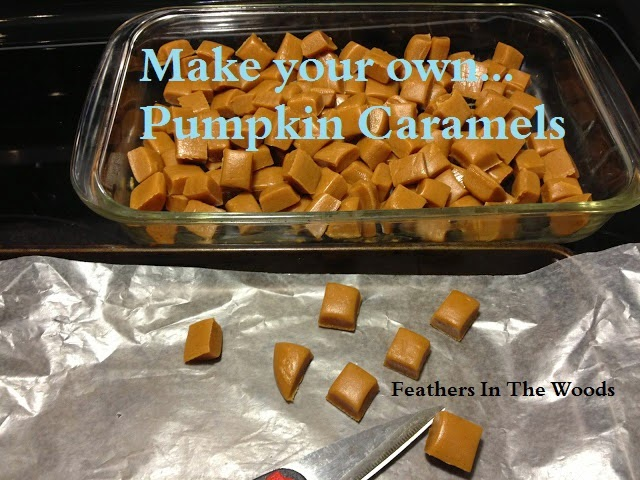 recipe pumpkin caramels