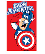 I've been a fan . captain america logo