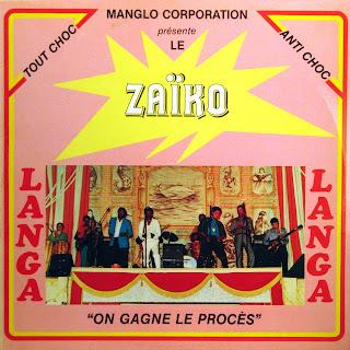 Zaïko Langa-Langa - On Gagne le Procès,Prozal 1984