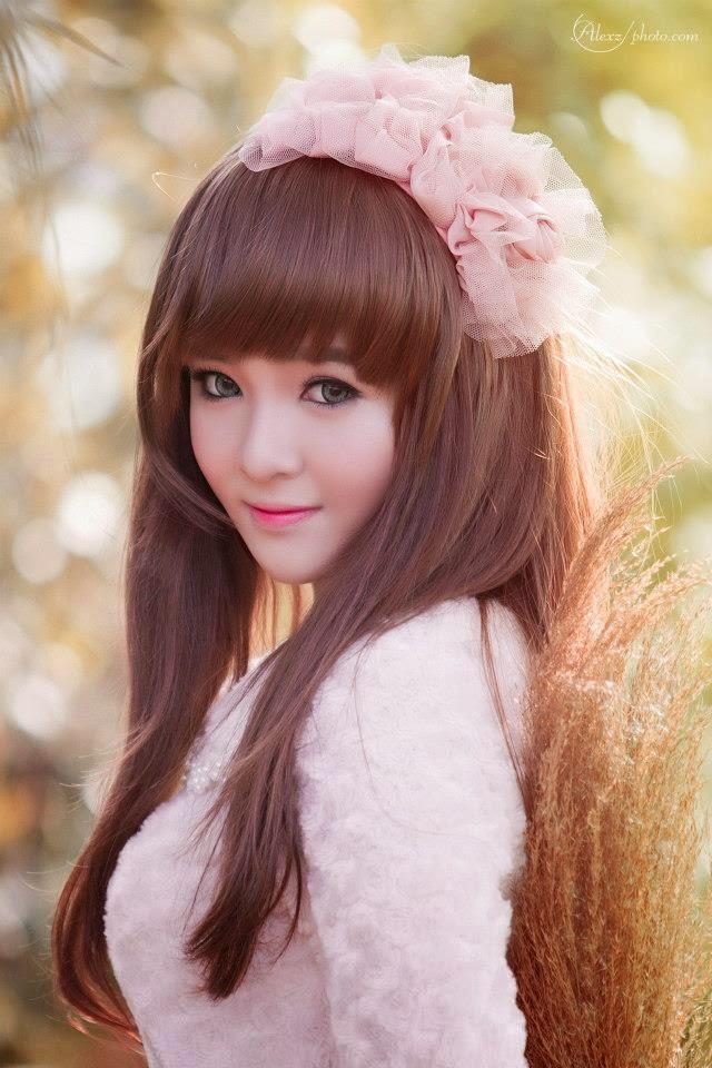 Ảnh gái đẹp HD xinh nhìn như búp bê