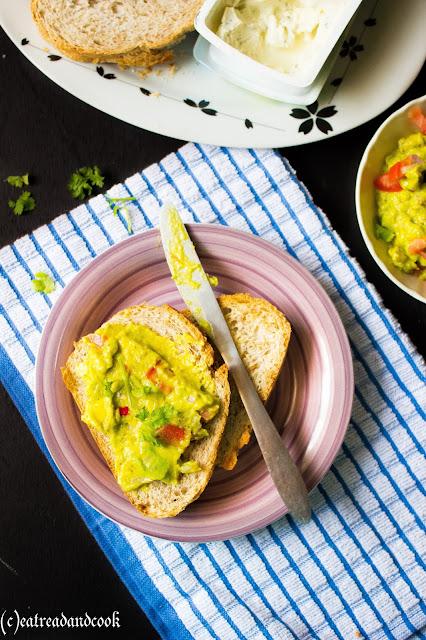 mexican guacamole or avocado spread recipe or spicy guacamole recipe