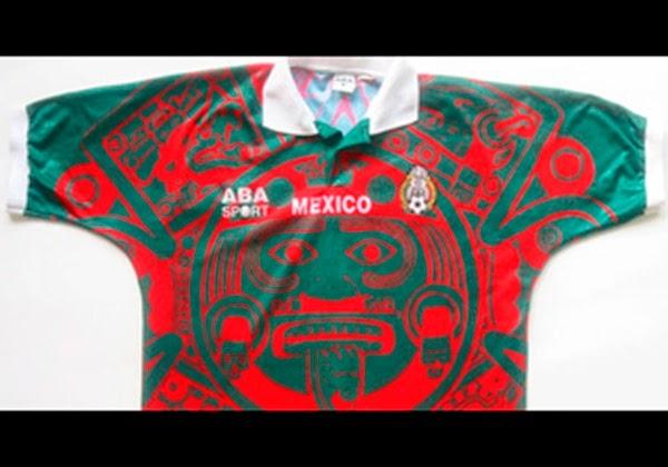 camiseta selección de México (1997-98)