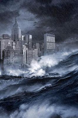Fenômeno natural foi manipulado  para agitar fantasmas alarmistas  sobre elevação do nível dos mares